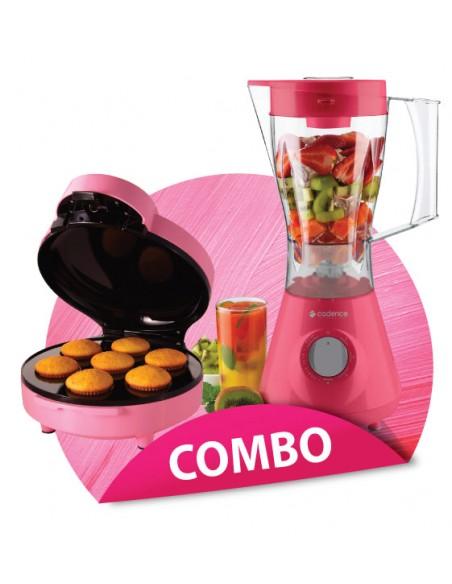 Combo licuadora Cadence + Máquina p/ mini cupcakes Oster®