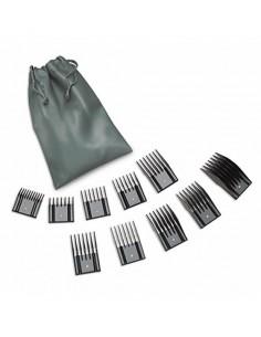 Set de Peines Universal 10 Piezas Oster® para Máquina Corta Pelos. Distribuidor oficial de productos para peluquería. Venta Mayo