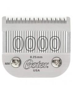 Cuchilla Oster® 0000 al mejor precio en Paraguay - Distribuidor Oficial de productos para peluquería. Venta Mayorista