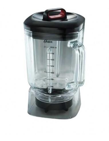 Vaso de Vidrio Boroclass® de 2 litros con tapa y sobretapa al mejor precio en Paraguay Distribuidor Oficial