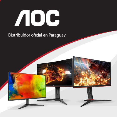 Nuevos Productos AOC. Somos distribuidores oficiales de monitores AOC. Contamos con garantía oficial