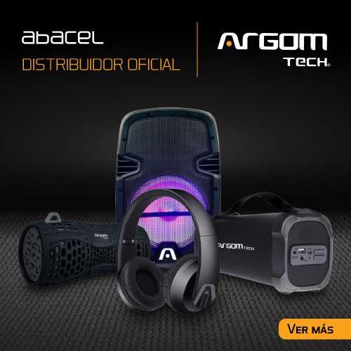 Tienda oficial de Productos Argom Tech en Paraguay, Tenemos parlantes - speakres - Bafles y portátiles con Bluetooth. Auriculares y accesorios