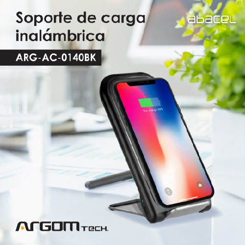 Cargador inalámbrico Argom tech plegable